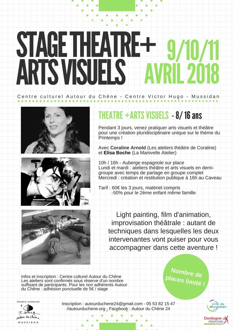 Stage_TheatreArtsVisuels_avril 2018