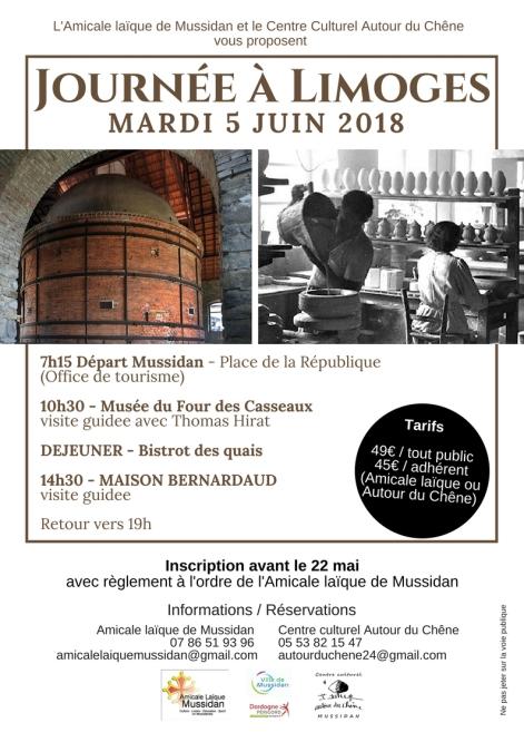 Journée à Limoges_Affiche