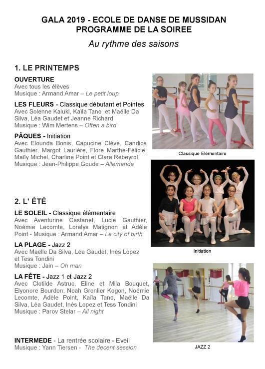 GALA 2019_Programme_page 2